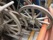 Rustikale Wagenräder / Räder -
