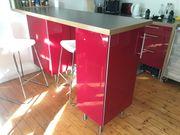 Ikea Küche Faktum Abstrakt rot