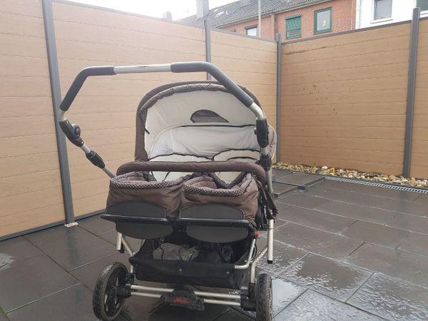 Zwillingskinderwagen hartan  Zwillingskinderwagen Hartan ZX 2 in Langen - Kinderwagen kaufen und ...