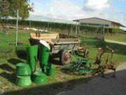 Landwirtschaftliche Deko