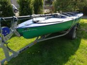 Segeljolle Delphino 435 Bavaria-Boote incl