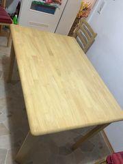 Küche Holz Esstisch