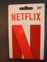 Netflix Guthaben 25EUR
