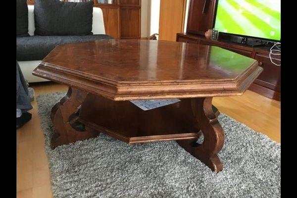 Holztisch rustikal gebraucht kaufen nur 3 st bis 60 for Holztisch gebraucht