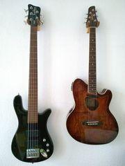 5-Saiter Bass Streamer und Ibanez