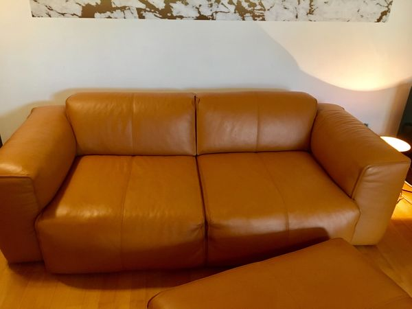 Couch Echtleder Farbe Cognac In München Polster Sessel Couch
