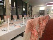 Hochzeitsdeko: Tischdecken, Servietten