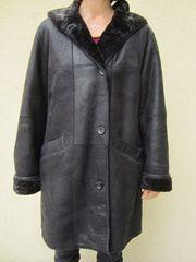 Damen Lammfelljacke schwarz Gr 40