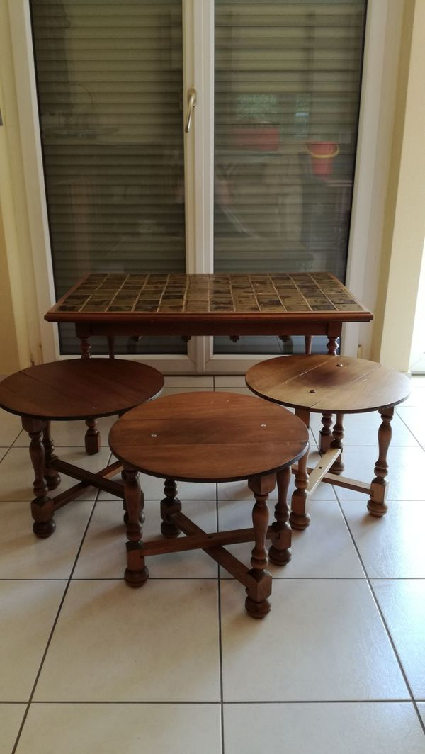 Tisch rund dunkel kaufen tisch rund dunkel gebraucht for Esstisch rund marmorplatte