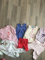 7- teiliges Mädchen Bekleidungspaket gr