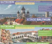 2 Flugreisen mit Hotel Baltikum