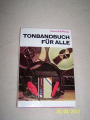 Tonbandbuch für Alle