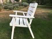 4 Gartenstühle, Holz,