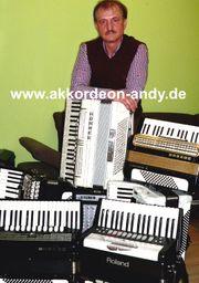 Akkordeonspieler in Dortmund Dorsten Duisburg