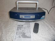 Tragbarer CD- Stereoanlage Panasonic mit