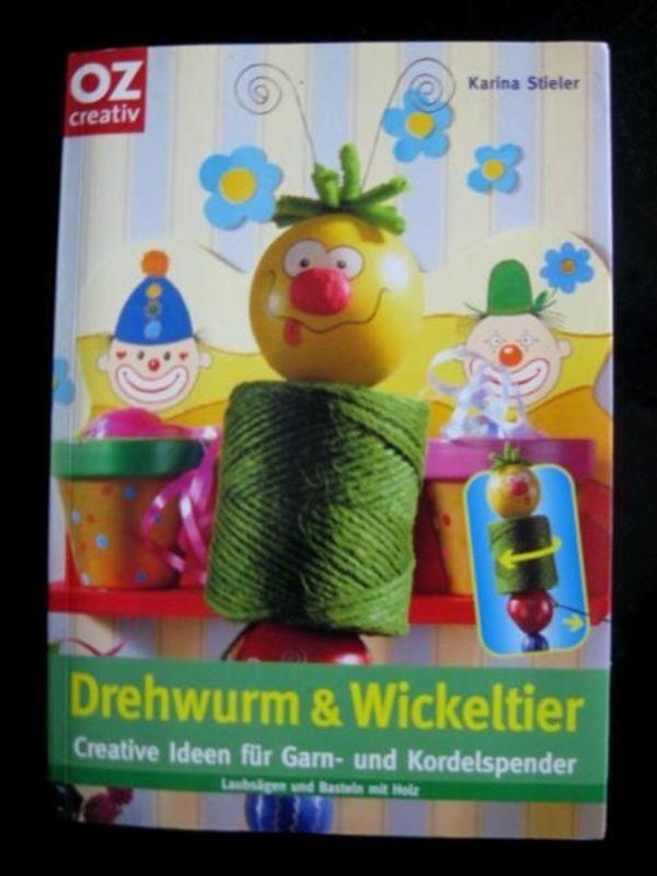 Karina Stieler - Drehwurm Wickeltier Bastelanleitungen