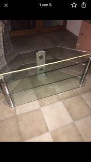 TV Glas Tisch