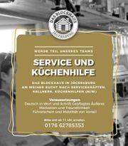 Servicekraft, Kellner, Beikoch