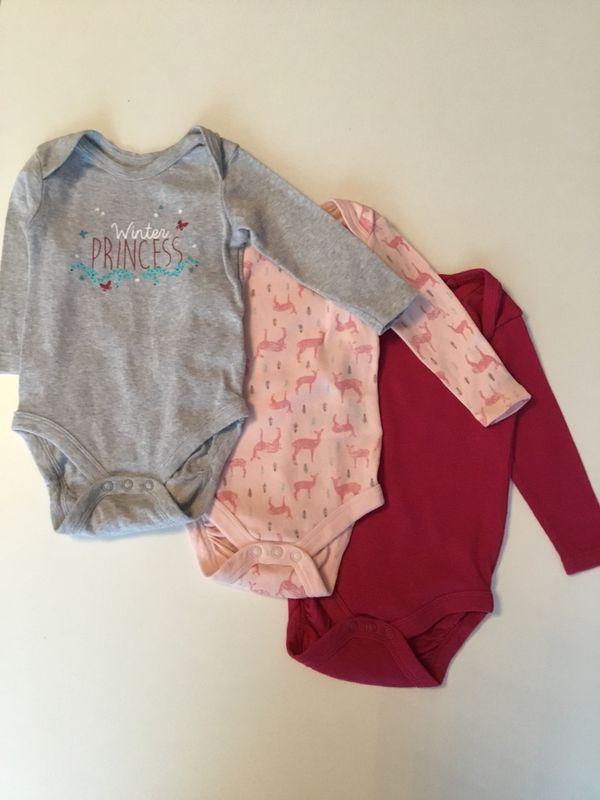 Baby Langarmbody 3er- » Babykleidung/ -schuhe