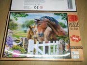 3D Puzzle 500 Teile Pferdemotiv
