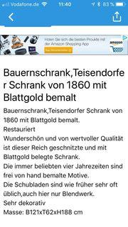 Teisendorfer Bauernschrank um