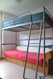 ikea hochbett haushalt m bel gebraucht und neu. Black Bedroom Furniture Sets. Home Design Ideas