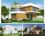 Fertighaus Modell Mona das Haus