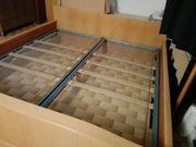 Bett Doppelbett Eiche
