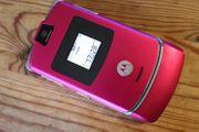 Handy Motorola RAZR V3 ohne