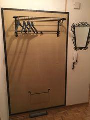 Garderobe Schmiedeeisern mit Spiegel