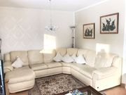 Ecksofa weiß couch Wohnlandschaft Designersofa