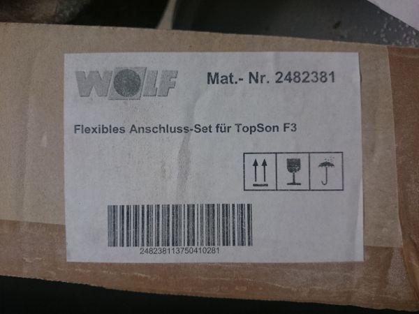 Wolf Flexibles Anschluss-Set für Kollektor