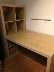 Ikea Schreibtisch mit Regal