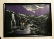 Wand Bild gebraucht