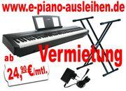 E-Piano ausleihen,