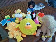 Verkaufe Plüsch Figuren und Puppen -