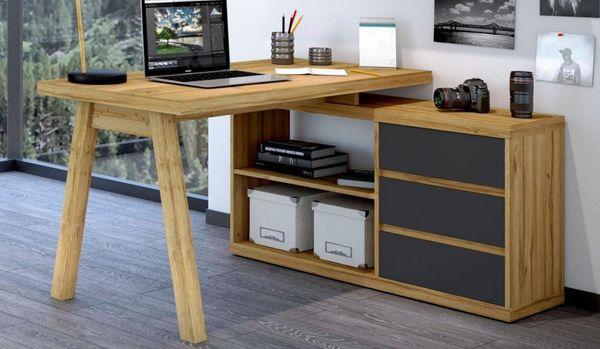 Neu Eckschreibtisch Kommode Regal Burotisch Winkel Schreibtisch