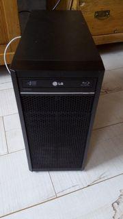 Personalcomputer schwarz