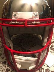 Tom Brady Autogramm Helm