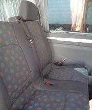 Vito W639 2er Sitzbank hinten