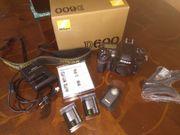 Nikon D600 SLR-Digitalkamera FX Vollformat