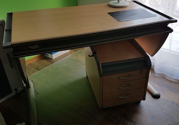 Moll Schreibtischzeichentisch Rollcontainer In Mühltal Kinder