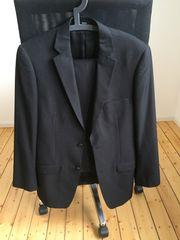 Herren Anzug schwarz Größe 94