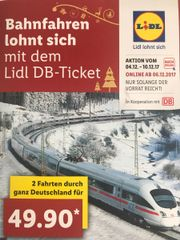 Lidl Bahntickets
