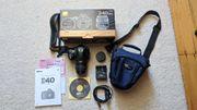 Nikon D40 Kit mit AF-S