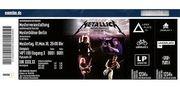 Metallica 2 Stehplätze Innenraum Berlin