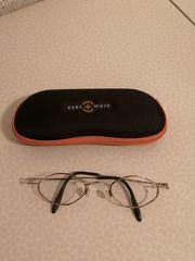 Neuwertige moderne Damenbrille Goldgestell