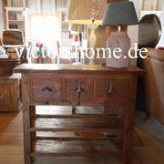 Sideboard Schublade Ablage Teakboard Wandtisch