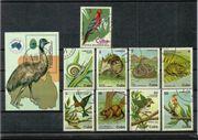 Gestempelte Briefmarken aus