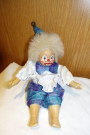 Clown Puppe Sammelclown Porzellanclown Dekoclown